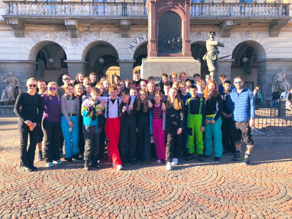 Our Italian Ski Trip!