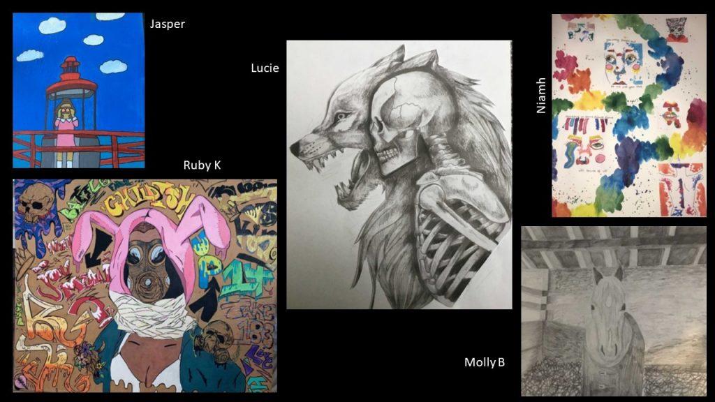 Amazing Year 9 Art Work
